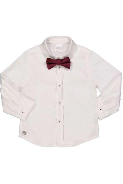 Купить Рубашка, Trybiritaly, Белый, Хлопок-100%, Мужской