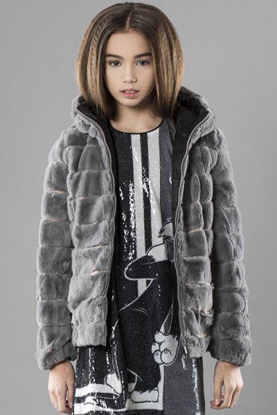 Купить Куртка, Vingino, Серый, Полиэстер-50%, Полиамид-50%, Женский