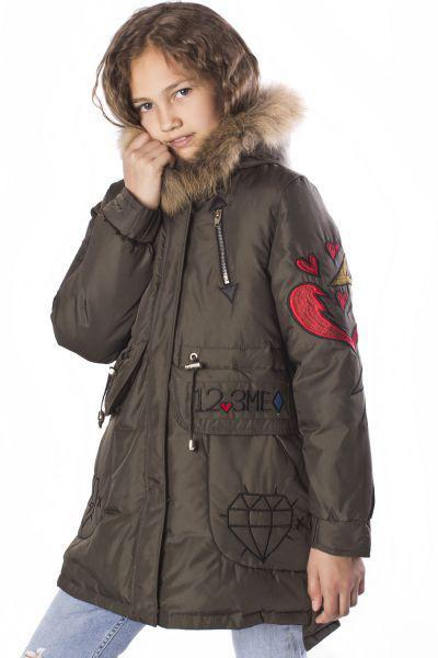 Купить Куртка, MNC, Коричневый, Полиэстер-100%, Женский
