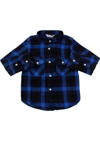 Купить Рубашка, Street Gang, Синий, Хлопок-100%, Мужской
