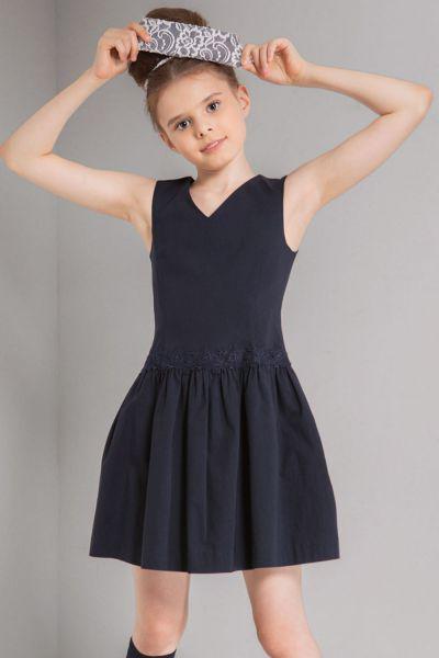 Купить Платье, Noble People, Синий, Вискоза-63%, Нейлон-32%, Лайкра-5%, Женский