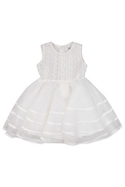Купить Платье, To Be Too, Белый, Хлопок-70%, Нейлон-30%, Женский