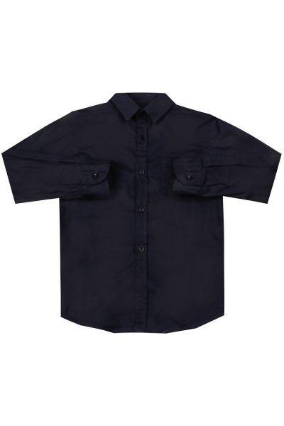 Купить Рубашка, Ronnie Kay, Синий, Хлопок-97%, Эластан-3%, Мужской