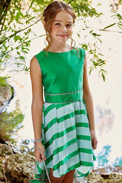 Купить Платье, Gaialuna, Зеленый, Полиэстер-100%, Женский