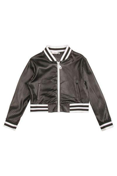 Купить Куртка, Y-clu', Черный, Полиуретан-100%, Женский