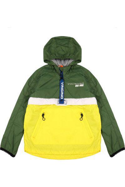 Купить Куртка-анорак, Vingino, Зеленый, Нейлон-100%, Мужской