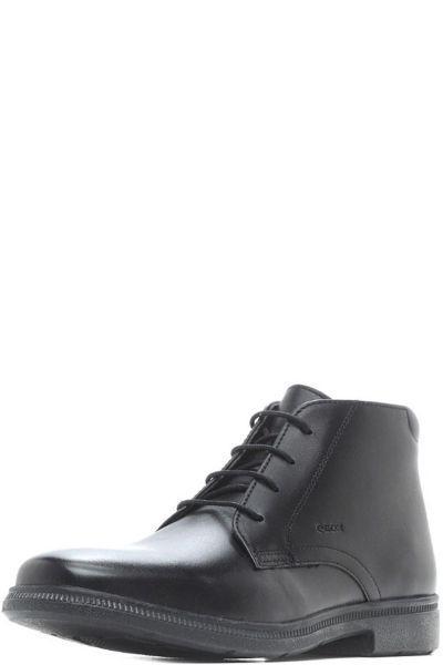 Купить Ботинки, Geox, Черный, Кожа-100%, Мужской