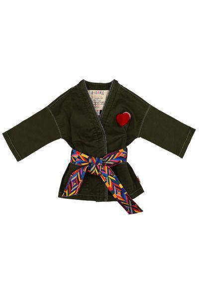 Купить Куртка, Vingino, Зеленый, Хлопок-95%, Эластан-5%, Женский