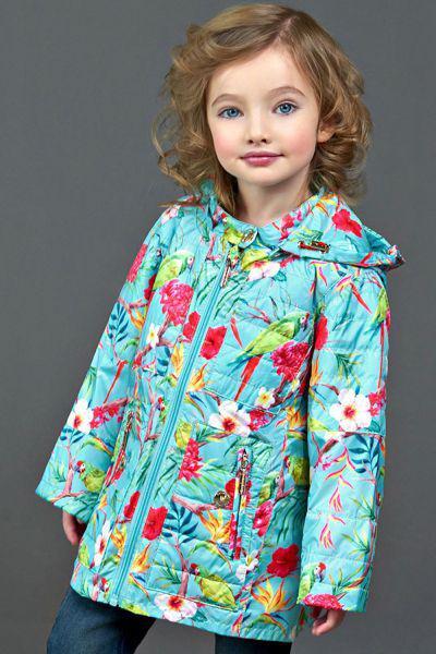 Купить Куртка, Les Trois Vallees, Голубой, Полиэстер-100%, Женский