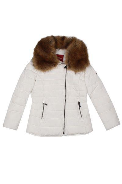 Купить Куртка, Gaudi, Белый, Полиэстер-100%, Женский