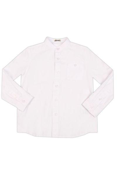 Рубашка, Y-clu', Белый, Хлопок-100%, Мужской  - купить со скидкой