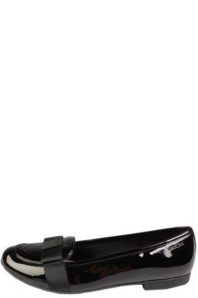 Купить Туфли, Geox, Черный, Искусственная кожа-100%, Женский