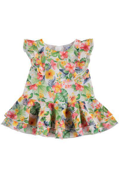 Купить Платье, Mayoral, Разноцветный, Хлопок-100%, Женский