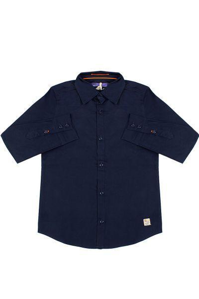 Купить Рубашка, Gaudi, Синий, Хлопок-97%, Эластан-3%, Мужской