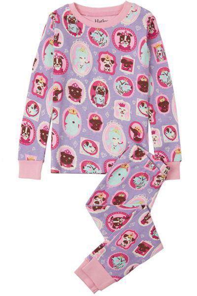 Купить Пижама, Hatley, Фиолетовый, Хлопок-100%, Женский
