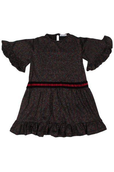 Купить Платье, Gaialuna, Разноцветный, Полиэстер-65%, Хлопок-35%, Женский