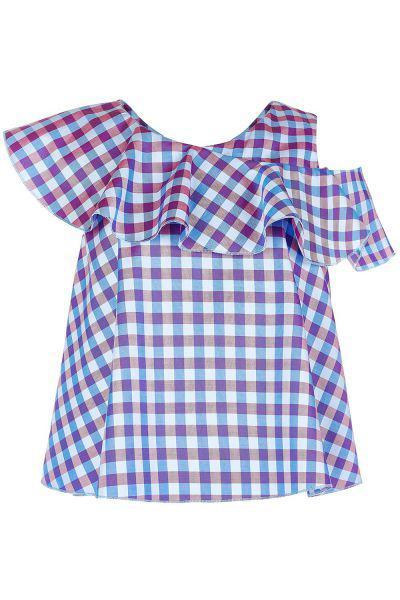 Купить Блуза, Silver Spoon, Разноцветный, Хлопок-100%, Женский