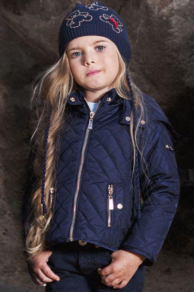 Куртка, Noble People, Синий, Нейлон-100%, Женский  - купить со скидкой