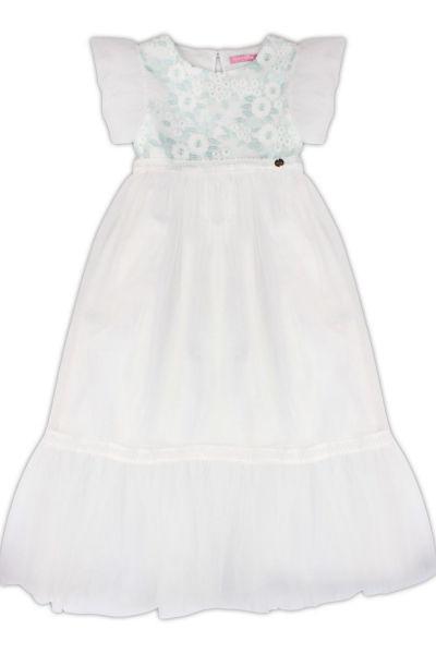 Купить Платье, Gaudi, Белый, Полиэстер-100%, Женский