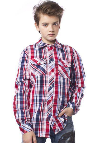 Рубашка, Trybiritaly, Разноцветный, Хлопок-100%, Мужской  - купить со скидкой